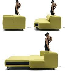 sofa that turns into a bed sofas that turn into beds convert sofa turned bunk bed with yellow