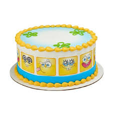 spongebob cake toppers spongebob squarepants a birthday place