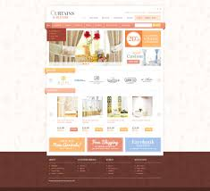 curtains u0026 blinds opencart template 41467