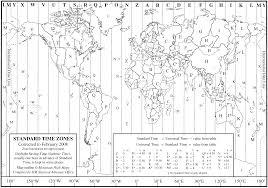 Time Zone Maps World Time Zone Map U2022 Mapsof Net