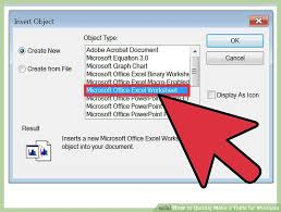 How To Put An Excel Table Into Word 3 Ways To Quickly Make A Table For Wordpad Wikihow