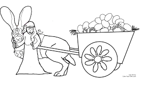 ostara easter coloring page