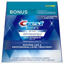 amazon com crest 3d white whitestrips with light teeth