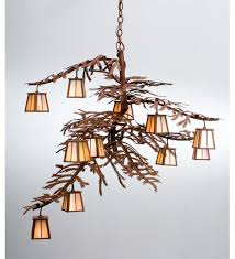 tree chandelier pine tree branch chandelier