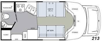 class b rv floor plans class b plus motorhome floor plans floor matttroy