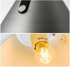 Yellow Ceiling Lights Leather Suspension Minimalist Pendant Ceiling Light Tudo