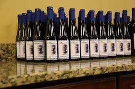 wine bottle favors your own winery custom wine bottle wedding favors riverdale nj
