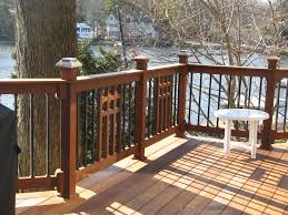 craftsman style deck railing many deck railing ideas http