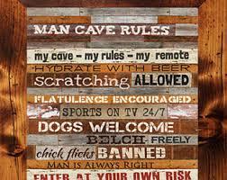 Man Cave Wall Decor Man Cave Decor Etsy