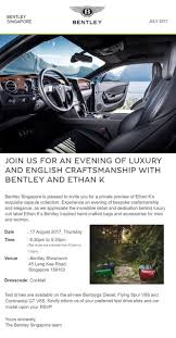 bentley singapore bentley owners club singapore an exclusive preview of ethan k u0027s