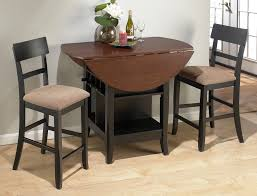 dining room high parson dining chairs with dark expandable round
