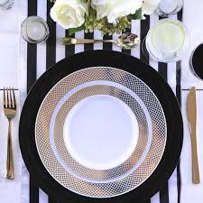 black and white table settings black white table settings styled settings