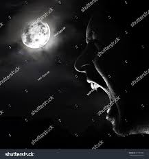 halloween background moon halloween vampire background vampire screaming nigth stock photo