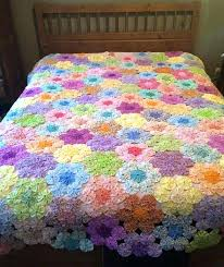 flower garden quilt cover grandmother flower garden quilt template