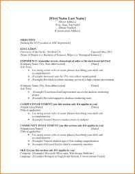 Resume First Job Template Sample Resume Teenager First Job Sidemcicek Com