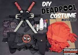 Deadpool Halloween Costume Diy Deadpool Costume Wholesale Halloween Costumes Blog