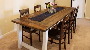 Diy Dining Room Table Plans Diy Farmhouse Dining Table Diy Farmhouse Dining Table From