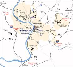 wvu evansdale map wvgistc about