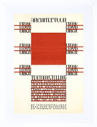 9x7 u0027 u0027 architecture frank lloyd wright amsterdam ad framed art