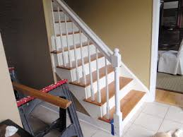 How To Refinish A Banister It U0027s Always Something Before And After Bannister