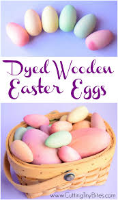 wooden easter eggs dyed wooden easter eggs what can we do with paper and glue
