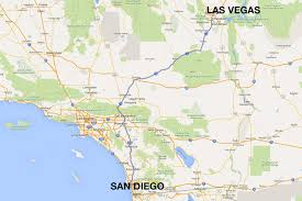 Worlds End State Park Map by San Diego To Las Vegas 4 Ways To Travel