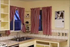 kitchen black and gold curtains tan curtains red and black