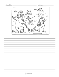 winter story starter pages free squarehead teachers