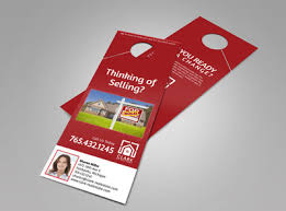 door hanger flyer template real estate door hanger templates mycreativeshop