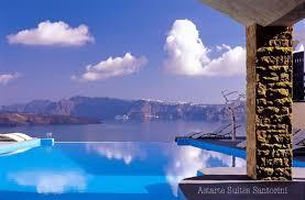 hotel chambre avec piscine priv l hôtel astarte suites boutique hôtel de luxe à santorin