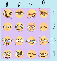 Expressions Meme - been in the mood to draw expressions so i made my shy art child