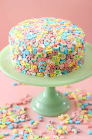 photo cake lucky charms cake it s magically delicious blissmakes