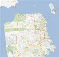 san francisco map of usa scalablemaps vector maps of san francisco for illustrator