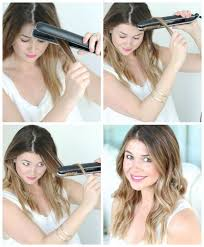 how to make flicks with a hair straightener best 25 flat iron ideas on pinterest easy curls curling hair