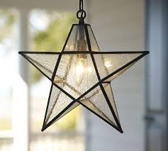 pottery barn lights hanging lights excellent star pendant pottery barn throughout star hanging l