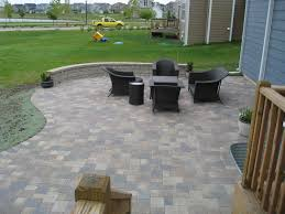 Paver Patio With Retaining Wall by Deck Builder St Charles Finished Basements Basement Finishing St