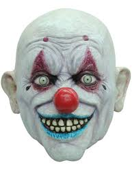 clown halloween masks crappy the clown halloween mask buy online at funidelia