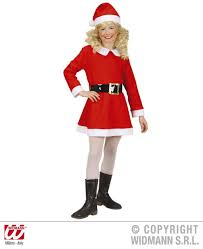 christmas christmas girls santa suit xmas fancy dress