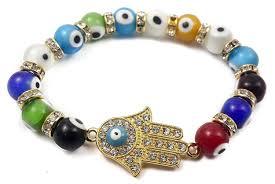 evil eye beads bracelet images Hamsa hand charm bracelet agate crystals evil eye beads nazareth jpg