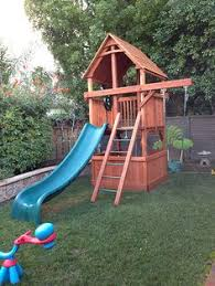 playsets for small yards small yards yards and backyard
