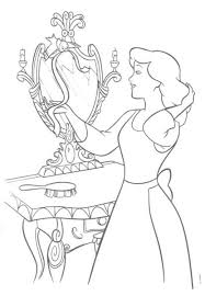cinderella coloring pages diy favors pinterest disney colors