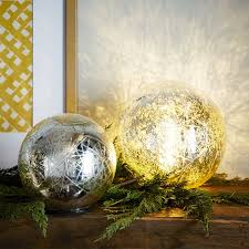 mercury lit spheres west elm