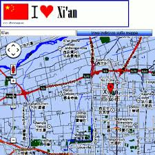 map of xi an xi an map android apps on play