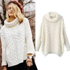 white sweater autumn fashion sweaters casual white sleeve