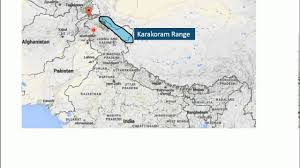 Karakoram Range Map Cse Prepration History Tutorial 1 Geographical Impact On
