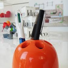 Pencil Holders For Desks by Vintage Artemide Idarco Modern Dedalino Pen And Pencil Holder For