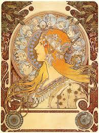 zodiac 1896 alphonse mucha wikiart org
