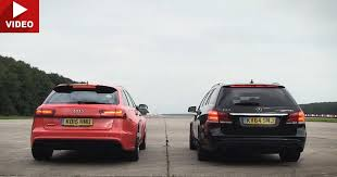 top gear mercedes e63 amg audi rs6 vs merc e63s shows how damn these wagons
