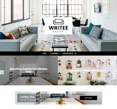 home decor blogs wordpress writee pro multi concept wordpress blog theme scissor themes
