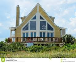 a frame beach house royalty free stock photos image 22023188